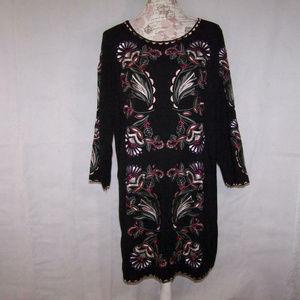 Juicy Couture Dress 12 Boho Peasant Rebel Romance